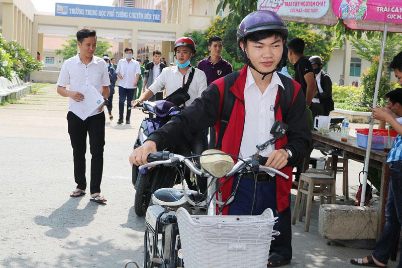 Học sinh giỏi trường THPT Chuyên Bến Tre được ưu tiên xét tuyển đại học.