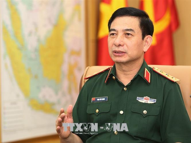 Thượng tướng Phan Văn Giang. Ảnh: Dương Giang/TTXVN