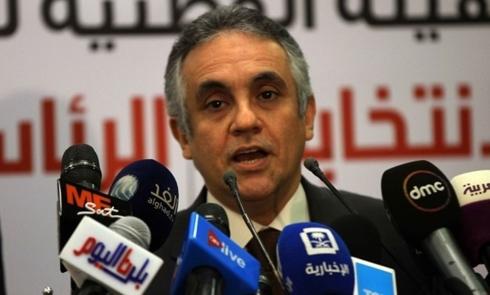 Người phát ngôn Cơ quan Bầu cử quốc gia Ai Cập Mahmoud El Sharif. Ảnh: Egypttoday