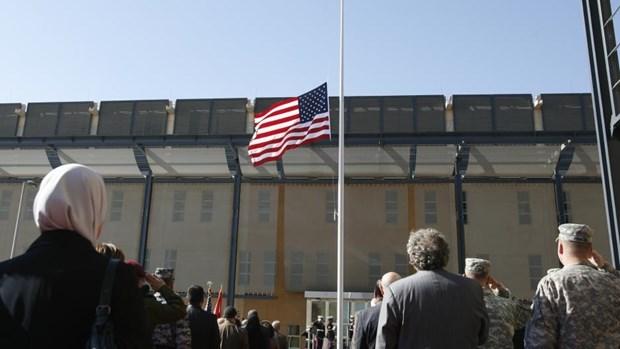 Đại sứ quán Mỹ ở Baghdad. Nguồn: Reuters