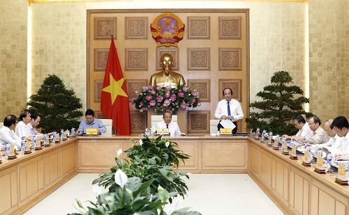 Bộ trưởng, Chủ nhiệm VPCP Mai Tiến Dũng phát biểu tại Hội nghị. Ảnh: VGP/Lê Sơn