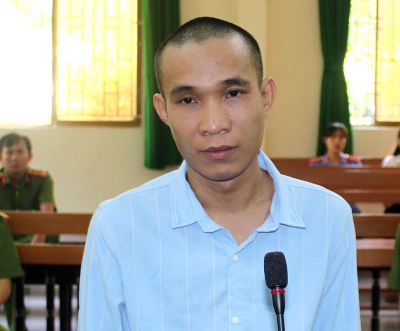 Bị cáo Đoàn Thanh Tới tại phiên tòa hình sự sơ thẩm ngày 17-5-2019.