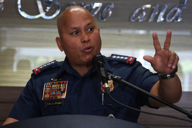 Cựu Cảnh sát trưởng quốc gia Ronald dela Rosa. Nguồn: Rappler