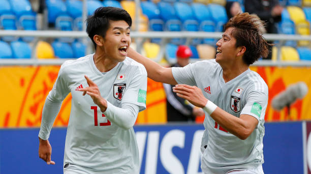Một chiến thắng dễ dàng của các cầu thủ U20 Nhật Bản.