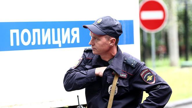 Cảnh sát có mặt tại hiện trường.
