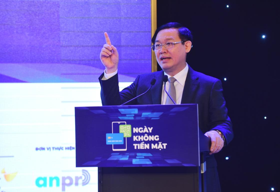 Phó thủ tướng Vương Đình Huệ phát biểu tại Hội thảo. Ảnh: chinhphu.vn