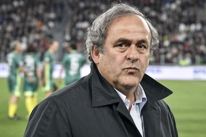 Ông Platini mới bị cảnh sát Pháp bắt giữ để điều tra cáo buộc nhận hối lộ