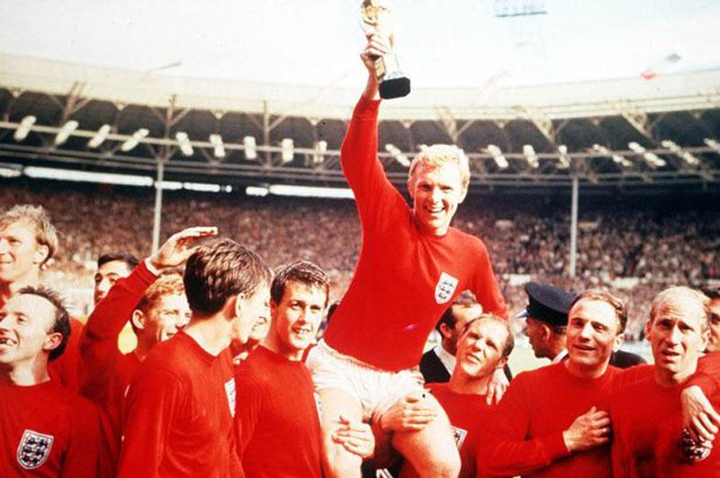 Đội tuyển Anh đã vô địch trong lần duy nhất đăng cai World Cup vào năm 1966