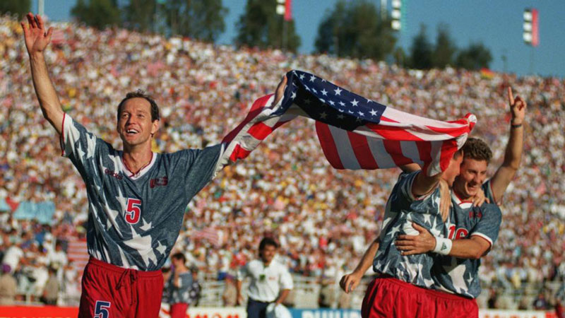 Đội tuyển Mỹ đã thi đấu khá thành công ở World Cup 1994 khi dừng chân ở vòng 1/8 trước nhà vô địch Brazil