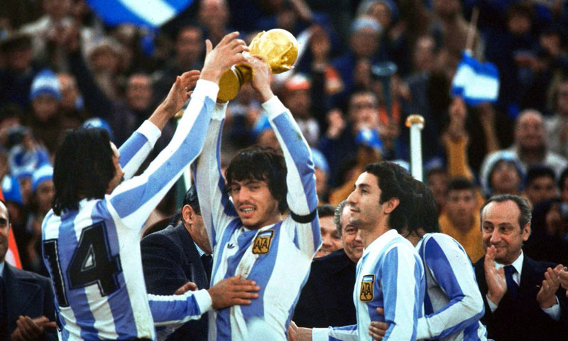 Argentina đã có danh hiệu World Cup đầu tiên vào năm 1978 khi giải đấu tổ chức trên sân nhà