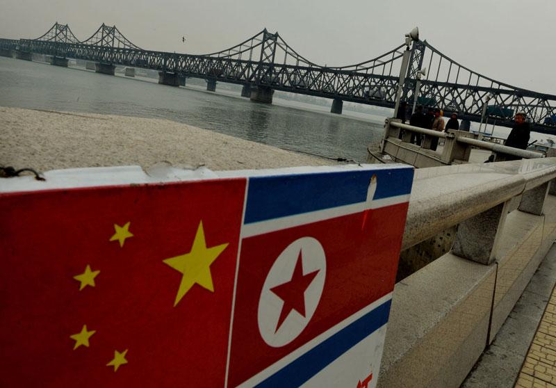 Khu vực biên giới Trung Quốc-Triều Tiên. (Nguồn: Getty Images)