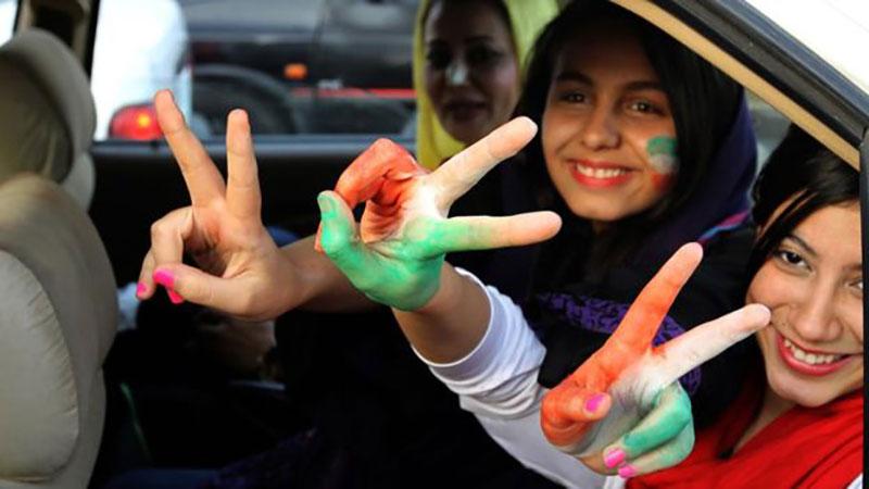 Các cổ động viên nữ ở Iran không được phép vào sân xem bóng đá