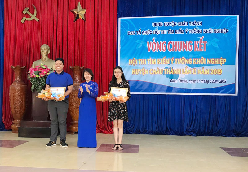 Ngọc Thiện tham gia cuộc thi Tìm kiếm Ý tưởng khởi nghiệp huyện Châu Thành năm 2019 và đã đạt giải cao tại cuộc thi.