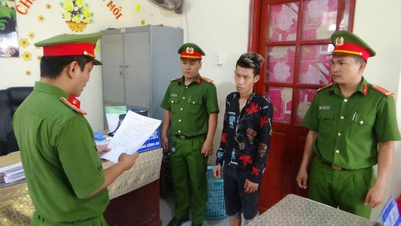 Cơ quan Cảnh sát điều tra đọc lệnh bắt tạm giam Võ Lộc Hải