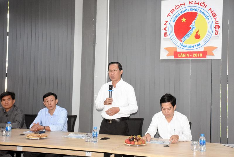 Ông Phan Văn Mãi phát biểu chỉ đạo tại Bàn tròn KN lần 4.