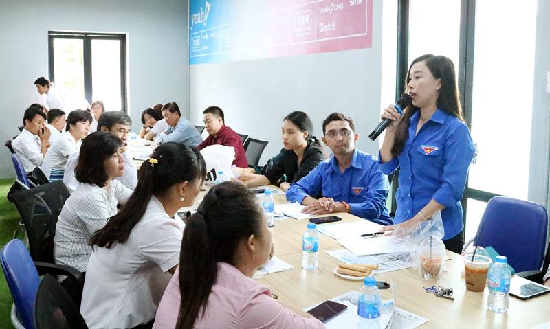 Doanh nghiệp KN ý kiến về các chương trình hỗ trợ KN của tỉnh bổ ích và đề xuất có những lớp chia theo chuyên ngành.