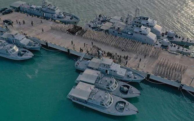 Căn cứ hải quân Ream, Campuchia. Ảnh: Khmer Times.