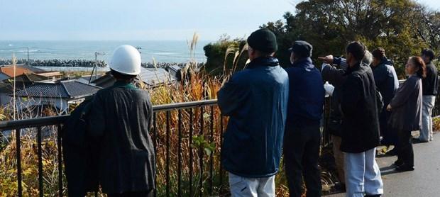 Quang cảnh tại Fukushima. (Nguồn: AFP)