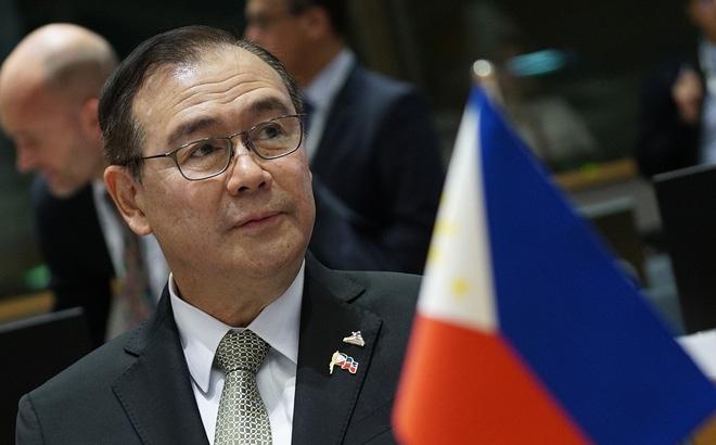 Ngoại trưởng Philippines Locsin. Ảnh: Malacanang