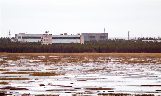 Toàn cảnh căn cứ quân sự của Nga ở thị trấn Nyonoska thuộc vùng Arkhangelsk. Ảnh: AFP/TTXVN