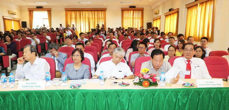 Đại biểu tham dự hội nghị khoa học kỹ thuật