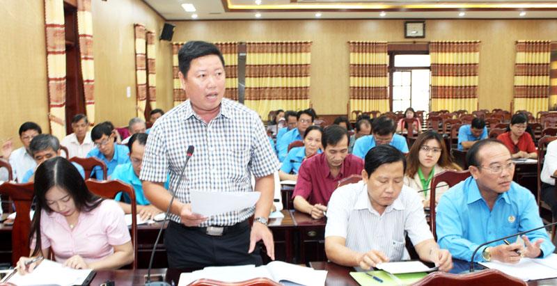 Đại biểu thảo luận góp ý xây dựng luật