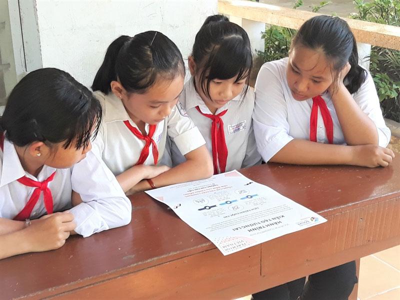 Các em học sinh tham khảo thể lệ và các nội dung cuộc thi