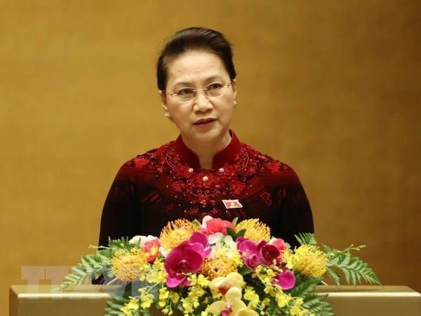 Chủ tịch Quốc hội Nguyễn Thị Kim Ngân. Nguồn: TTXVN