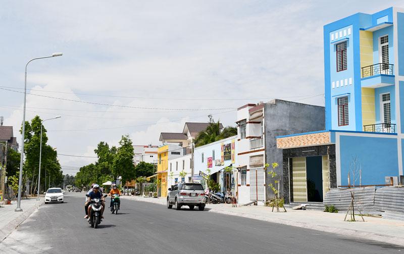 Công trình mở rộng lộ Chợ Chùa, phường Phú Tân, TP. Bến Tre được người dân đồng thuận cao. Ảnh Hữu Hiệp