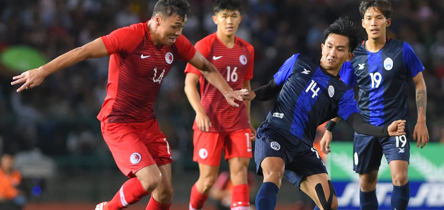 Campuchia có trận đấu đáng khen trước Bahrain.