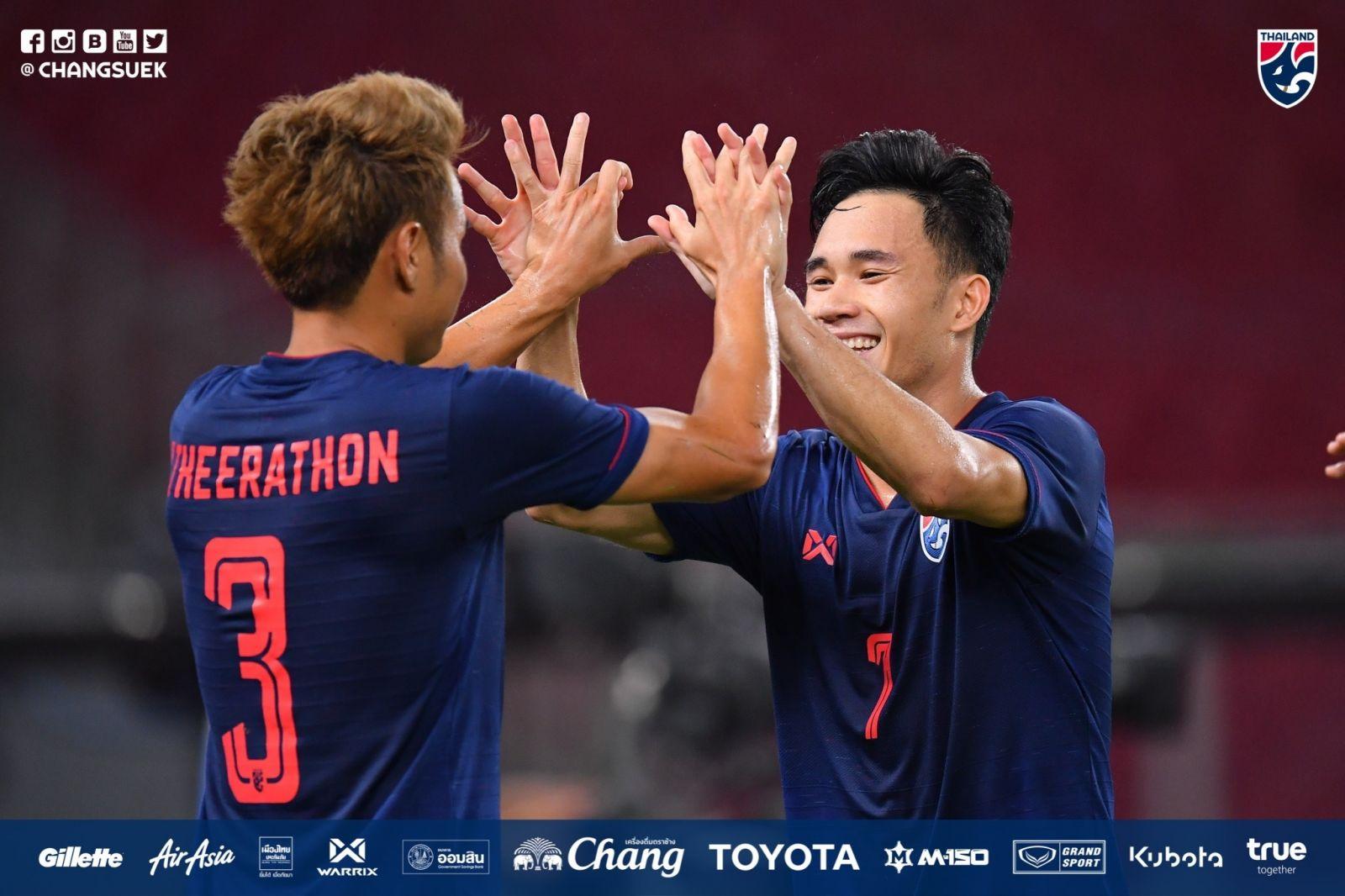 Supachok và Theerathon giúp Thái Lan giành chiến thắng.