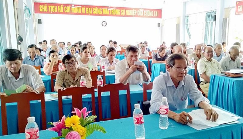 Quang cảnh đại biểu dự tập huấn