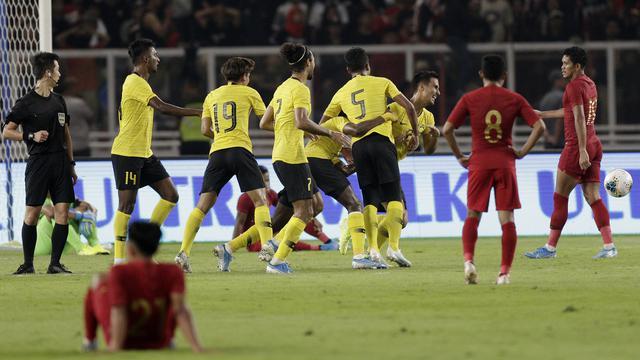 Indonesia thi đấu thất vọng.