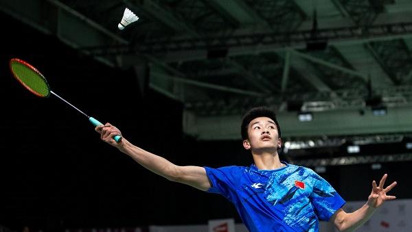 Sức trẻ giúp tay vợt Trung Quốc khởi đầu rất tốt.