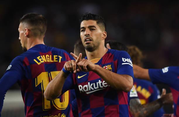 Dù vào sân từ băng ghế dự bị nhưng Suarez vẫn đóng góp cú đúp. Ảnh: Getty Images