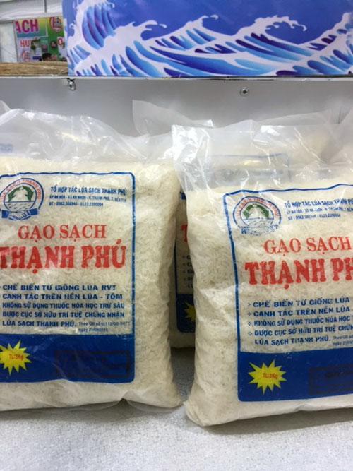 Những sản phẩm Ocop của Thạnh Phú.