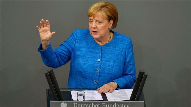 Thủ tướng Đức Angela Merkel. Ảnh: Press TV
