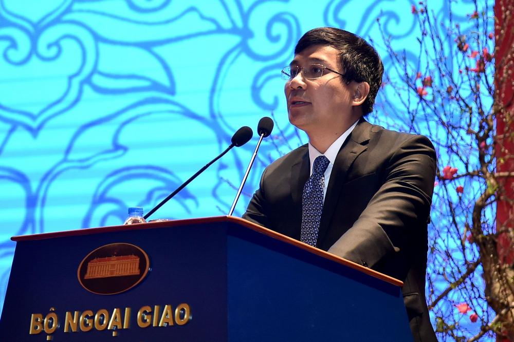 Ông Nguyễn Minh Vũ, Vụ trưởng Vụ Chính sách đối ngoại, Bộ Ngoại giao giữ chức Thứ trưởng Bộ Ngoại giao. (Ảnh: vtc.vn)