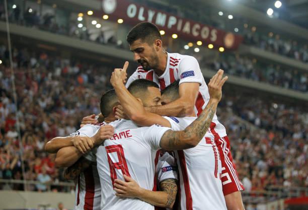 Olympiacos đã có một trận đấu rất quả cảm. Ảnh: Getty Images