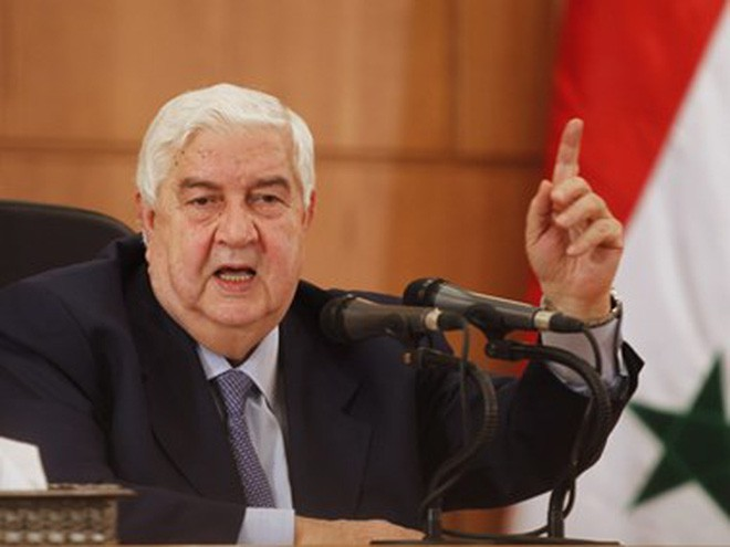 Ngoại trưởng Walid al-Moualem. Nguồn: ejinsight.com