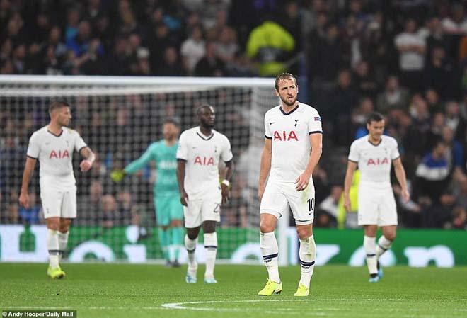 Kane thất thần vì Tottenham thua thảm Bayern