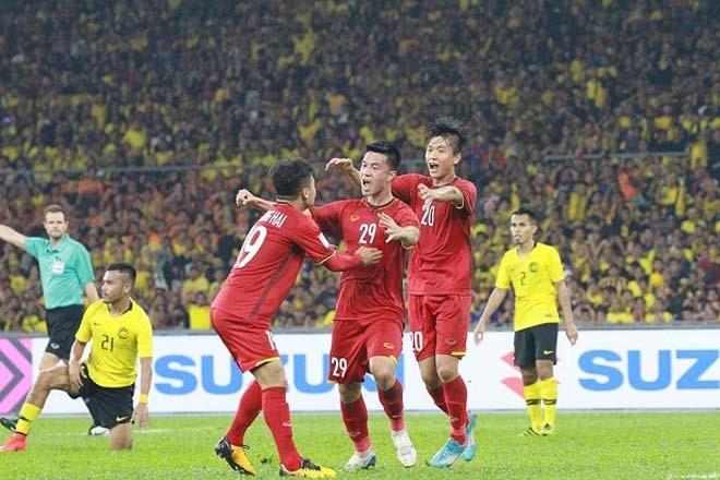 ĐT Việt Nam từng hạ Malaysia ở AFF Cup 2018 thuyết phục