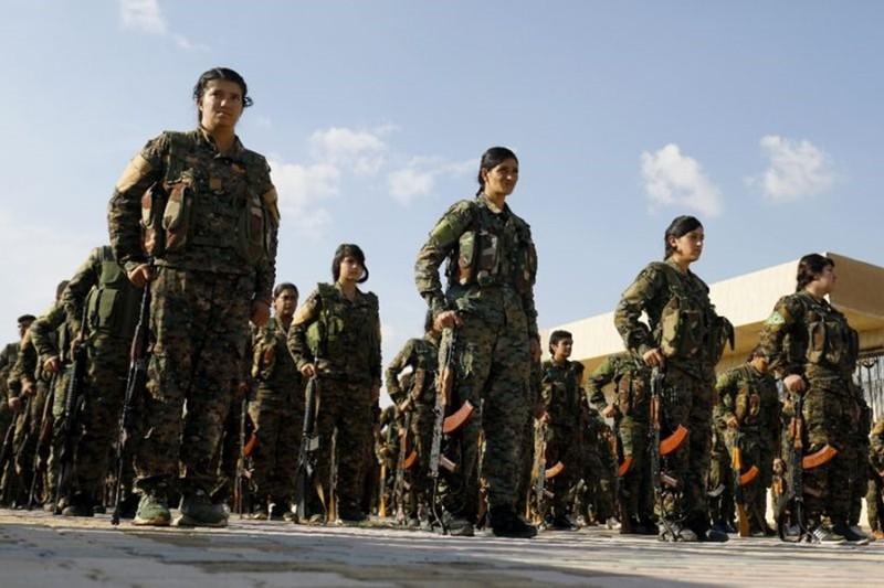 Tương lai nào cho người Kurd ở Syria sau khi Mỹ rút quân. Ảnh: AFP