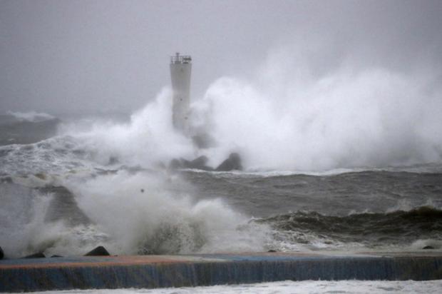 Siêu bão Hagibis đổ vào Nhật Bản tối 12-10-2019 đã gây thiệt hại nặng nề về người và của. Nguồn: english.kyodonews.net