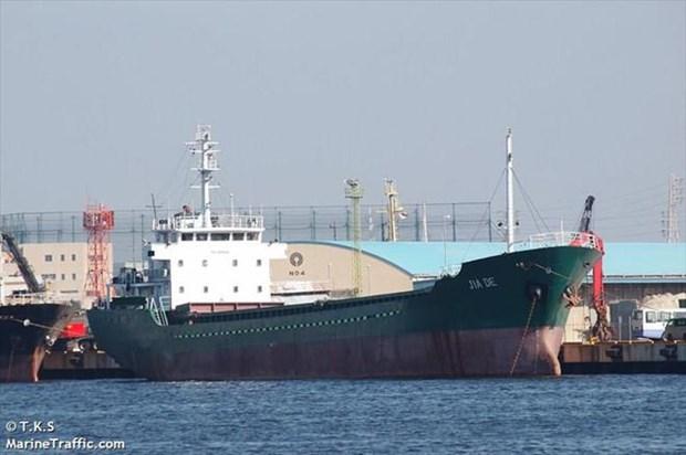 Tàu hàng Jia De mang cờ Panama. Ảnh: Marine Traffic