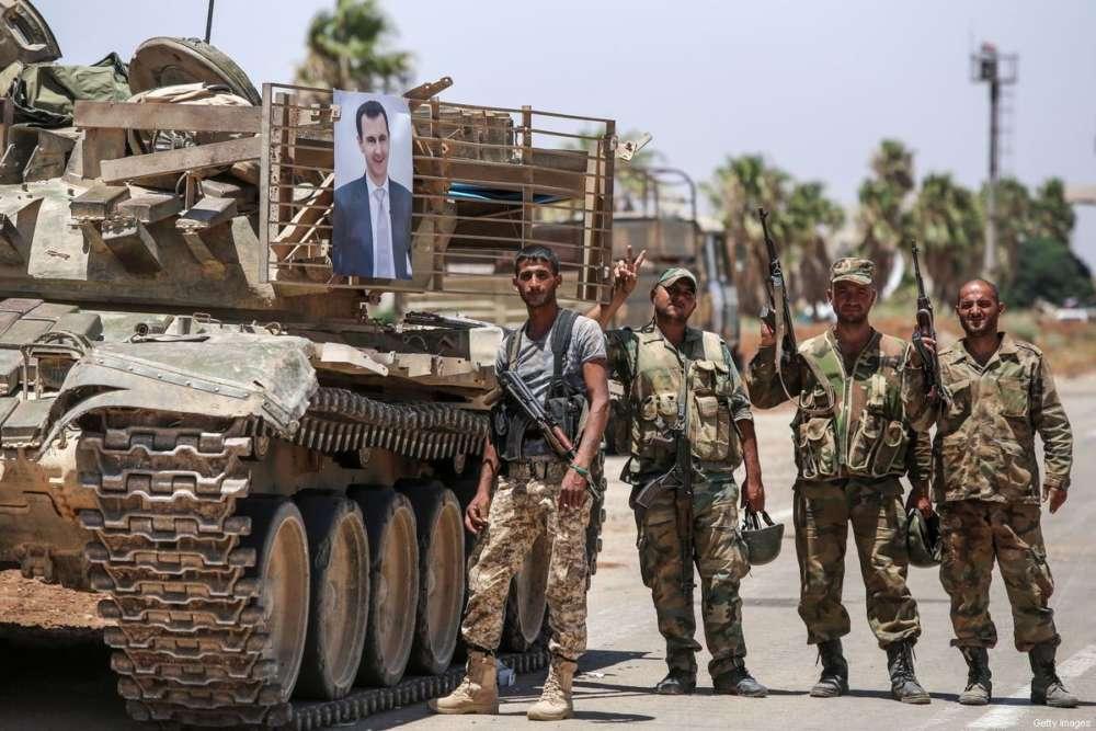 Quân đội Syria tham chiến. Ảnh: In-Cyprus