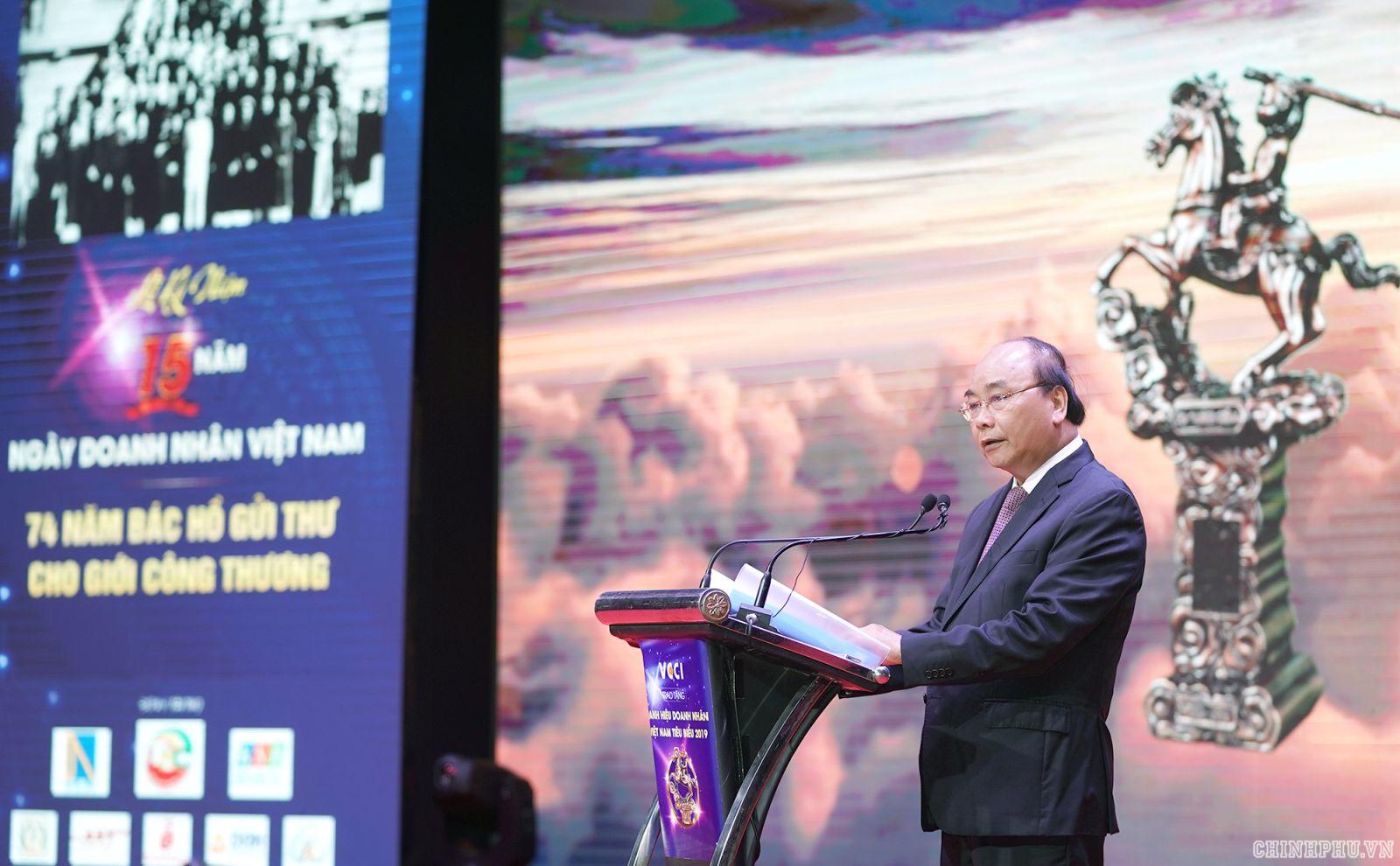 Thủ tướng phát biểu tại buổi lễ. Ảnh: VGP/Quang Hiếu