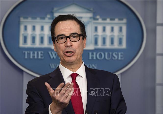 Bộ trưởng Tài chính Mỹ Steven Mnuchin. Ảnh: AFP/TTXVN