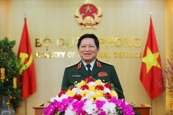 Đại tướng Ngô Xuân Lịch, Bộ trưởng Bộ Quốc phòng. Ảnh: TTXVN