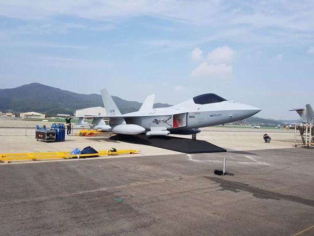 Máy bay chiến đấu KF-X của Hàn Quốc. (Nguồn: flightglobal.com)